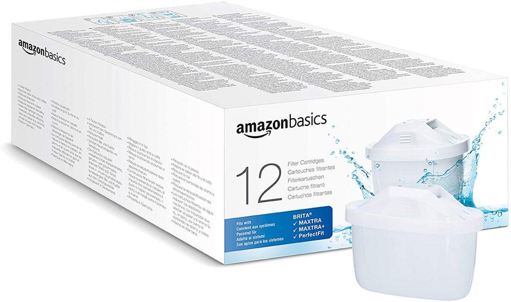 AmazonBasics Cartuchos de filtro de agua